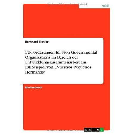 Eu-Forderungen Fur Non Governmental Organizations Im Bereich Der Entwicklungszusammenarbeit Am Fallbeispiel Von
