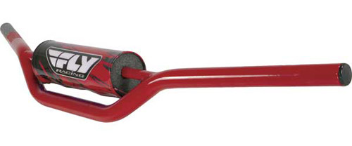 1010 CARBON STEEL HANDLEBAR ATV RED One Size