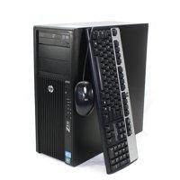 Refurbished HP Z210 Workstation Desktop Tower Intel Core i7 3.4GHz 16GB 480GB SSD Windows 10 Pro