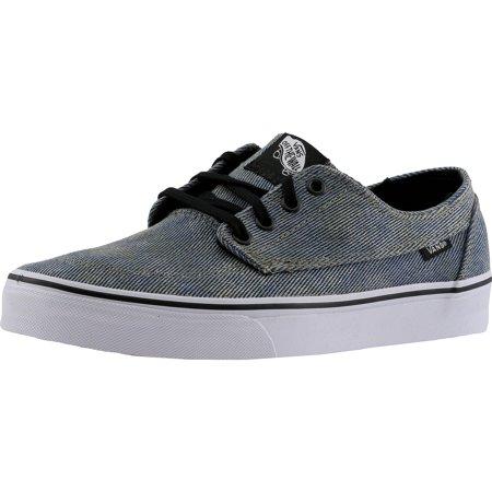 Brigata Acid Denim Low Top Canvas Skateboarding Shoe