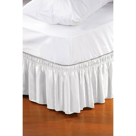 Fur Ruffle - Home Details, Wrap Around Bed Ruffle/Bed Skirt