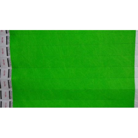 Neon Green Wristbands (Neon Green - 3/4