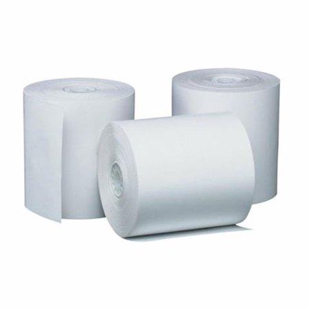 1-Ply White Bond Paper Rolls  1.75 in. x 150 ft. - image 1 de 1