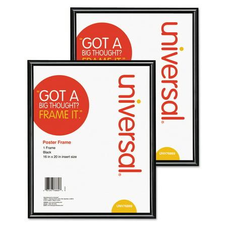 Universal Glossy Black Poster Frame - Set of 2 ()