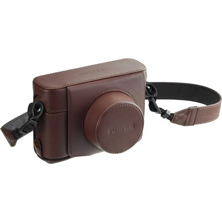 Fujifilm LC-X100F Leather Camera Case for X100F (Brown Leather Camera Case)