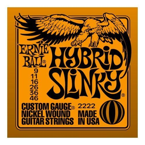 Ernie Ball Electric Guitar String Set