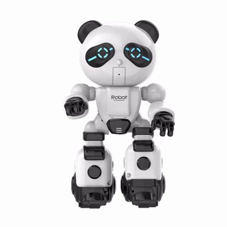 Akoyovwerve Kids RC Robot Toy, Electronic Walking Dancing Robot Toys with USB Charging Cable for Kids Boys Girls Toddlers,
