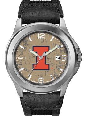 32afb4a56 Product Image Men's University of Illinois Watch Timex Old School Vintage  Watch