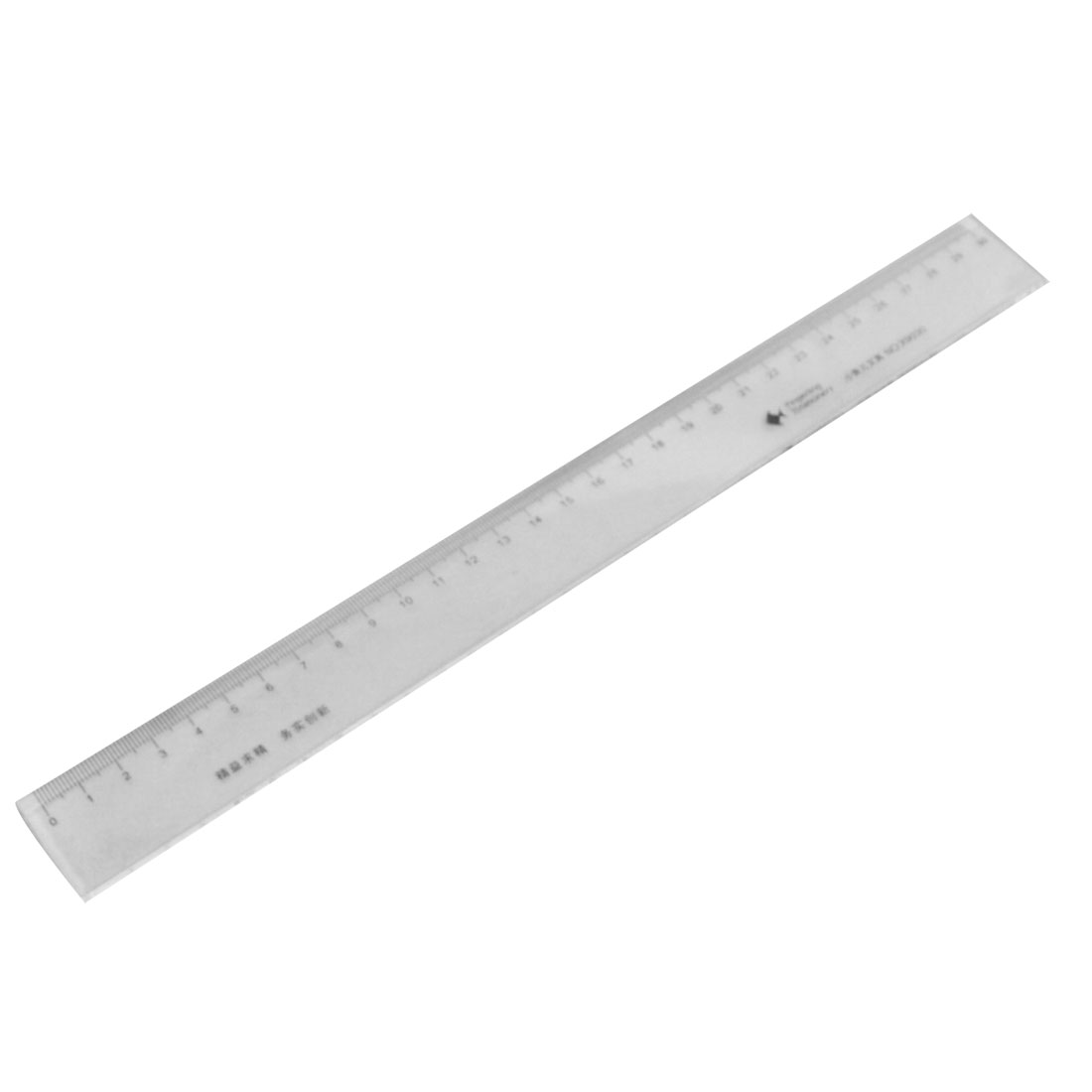 Unique Bargains 30cm 118 Inch Length Measure Clear