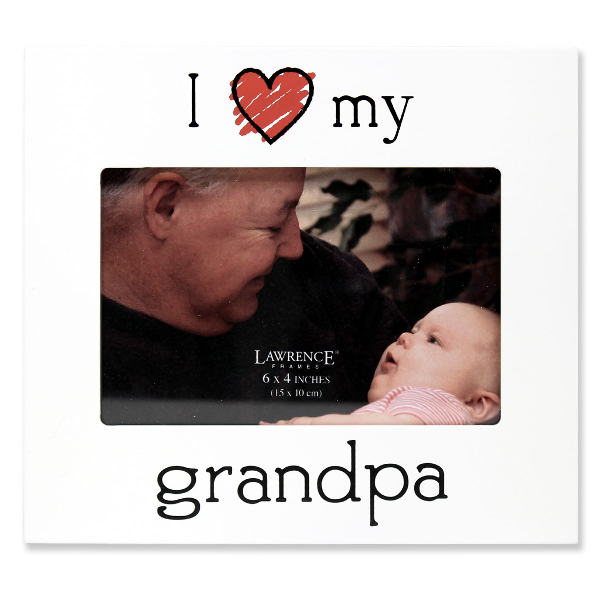 """6x4 """"I Love my Grandpa"""" Picture Frame by Lawrence Frames"""