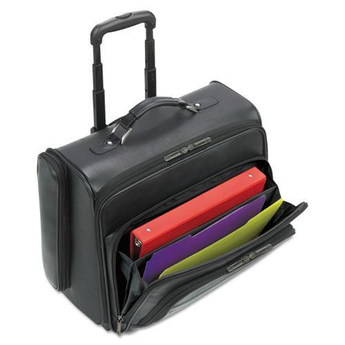 SOLO Rolling Laptop Case / Overnighter, Black