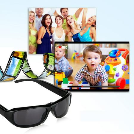 Excelvan HD Polarized Sunglasses Mini Camera Digital Video Recorder DV Eyewear Camcorder (Cheap Sunglasses Video)
