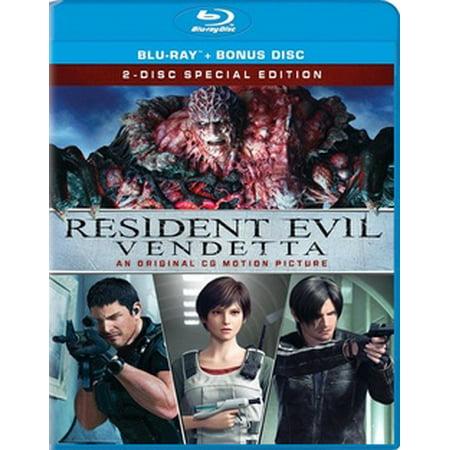 Sony Resident Evil: Vendetta Bd+dc Std Ws