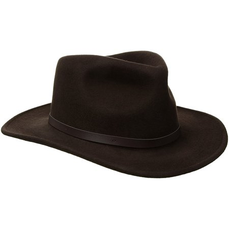 322bba6ab4b75 New Scala Classico Men s Crushable Felt Outback Hat
