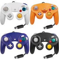 LUXMO Gamecube Controller, Wired Gaming Gamepad Controller for GameCube Video Game Console 1.8m/5.9ft