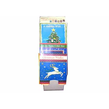 ddi jumbo christmas cards in display pack of 72 walmart com