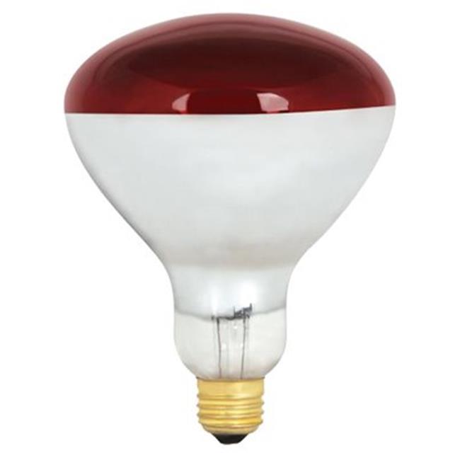 Feit Electric 250r40 R 250w Heat Lamp Red Walmart Com Walmart Com