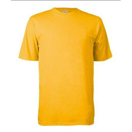 Cottonex C0252A710XLG Tee shirt - manches courtes pour adulte, or p-le - Extra Large - image 1 de 1