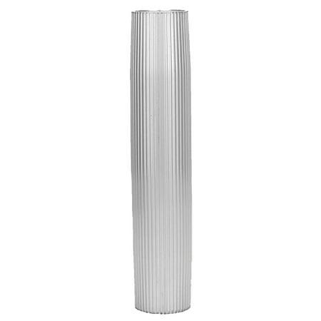 Taco Marine Z60-7279VEL27.5-2 Taco Aluminum Ribbed Table Pedestal - 2-3/8
