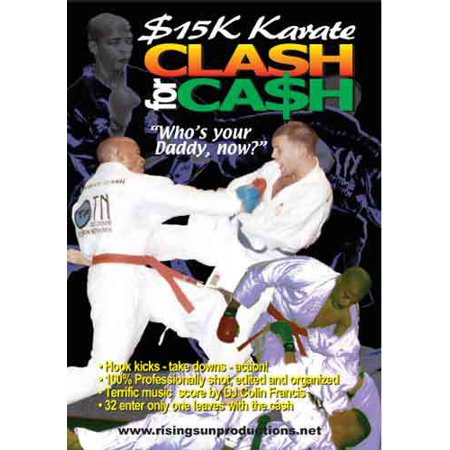 Karate Fighter (15K Karate Clash for Cash DVD 32 fighters)
