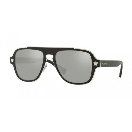 Versace 2199 Medusa Charm Sunglasses 10006G Black ()