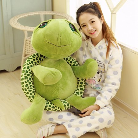 Cute Animal Stuffed Green Sea Turtle Plush Doll Toy for Baby Child Gift Specification:60 - Stuffed Animal Turtle