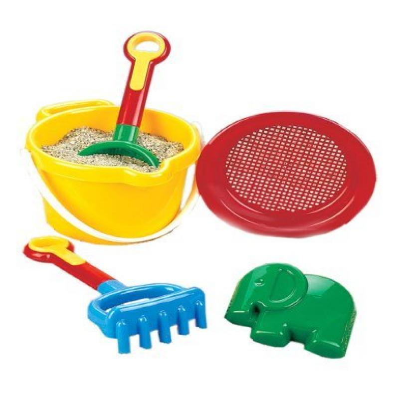SW Express Deluxe Beach Set by Small World Toys (colors may vary) by