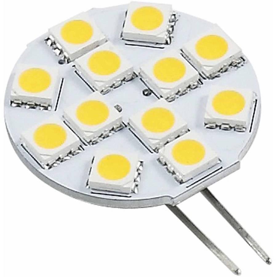 Green Value 12V LED Light Bulb with G4 Base, 150 Lumens, Warm White