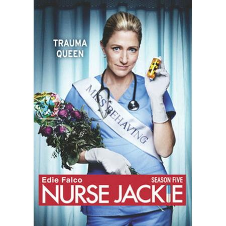Nurse Jackie: Season Five (DVD) (Anna Deavere Smith Twilight Los Angeles 1992)