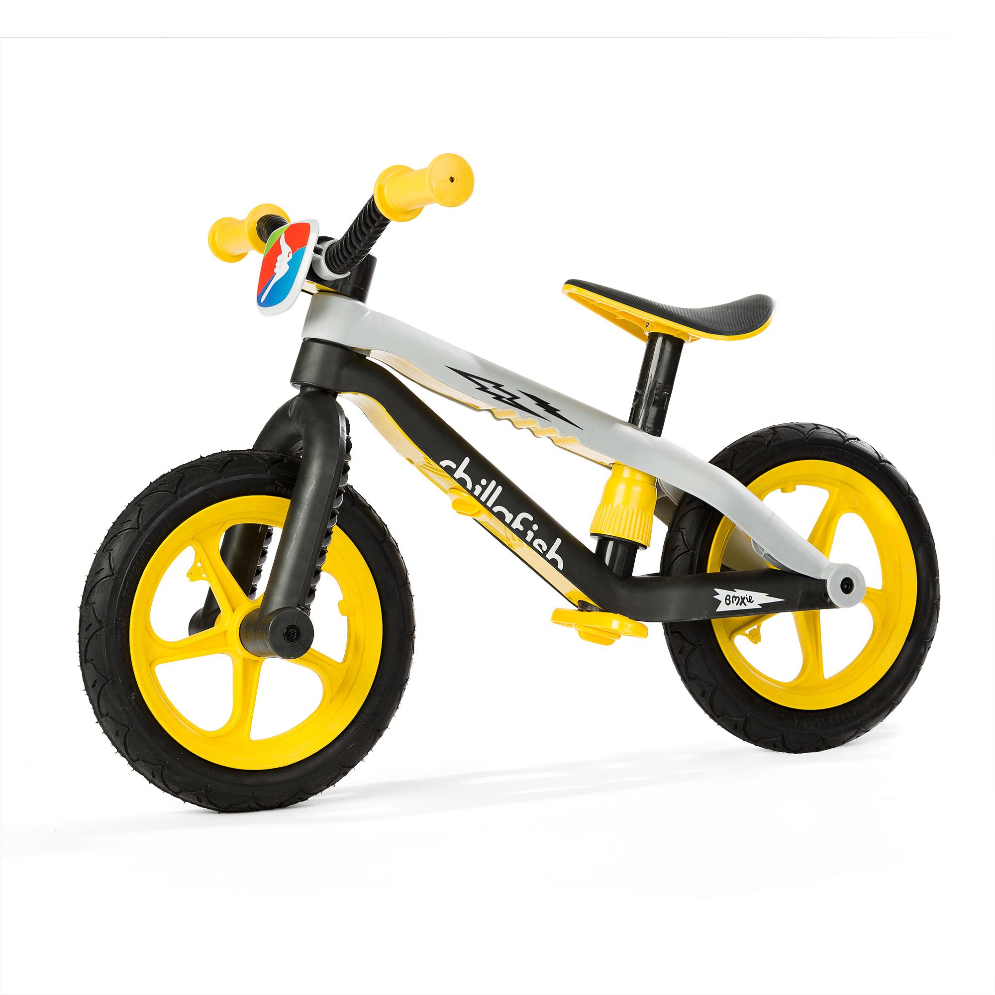 Chillafish BMXie-RS Balance Bike Yellow by ChillaFish