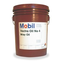MOBIL Mobil Vactra No.4, Way Oil,5 gal,ISO 220 103880