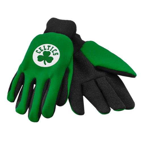Forever Collectibles NBA Boston Celtics 2015 Utility Glove Colored Palm by Team Beans