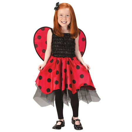 Ladybug Toddler 3T To 4T](Lightning Mcqueen Costume 3t)
