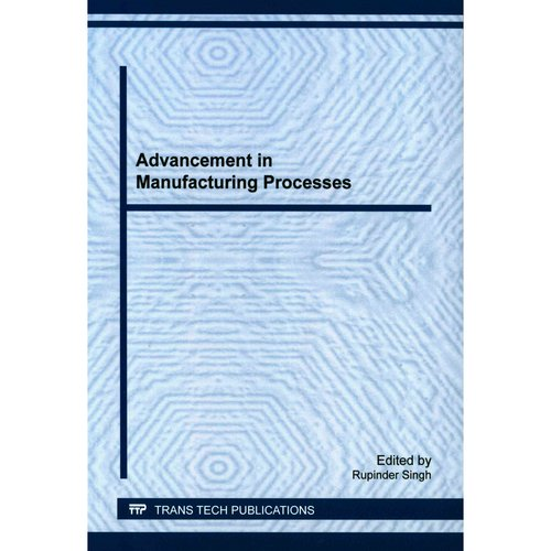 Advancement in Manufacturing Processes