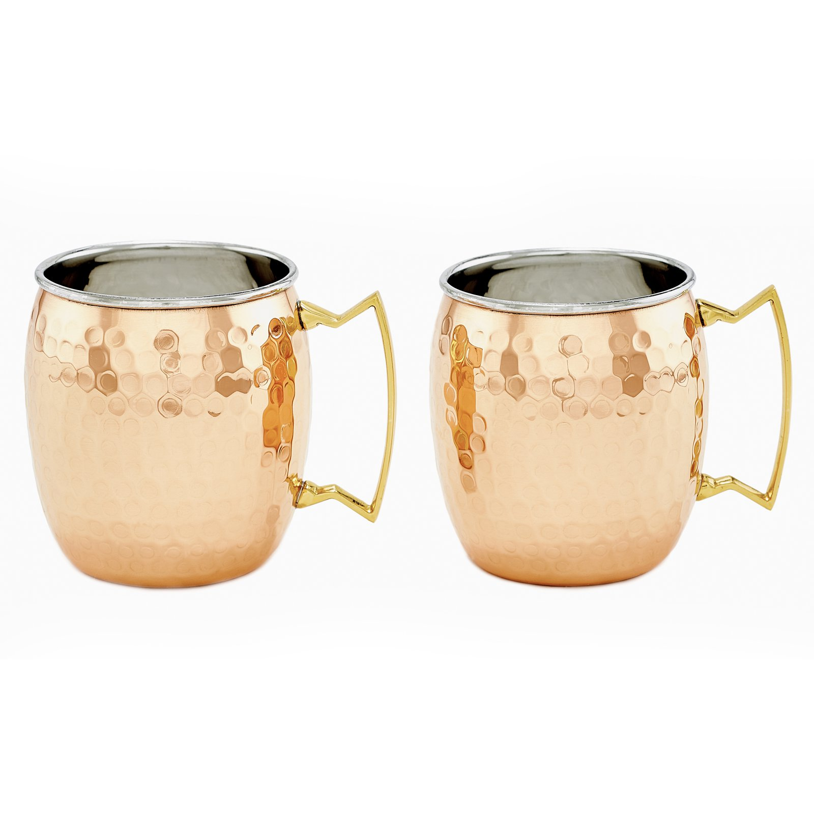 Old Dutch Copper Moscow Mule Mugs - Set of 2