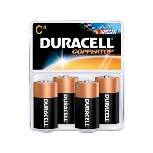 Duracell MN1400R4Z C Size Alkaline General Purpose Battery DURMN1400R4ZX
