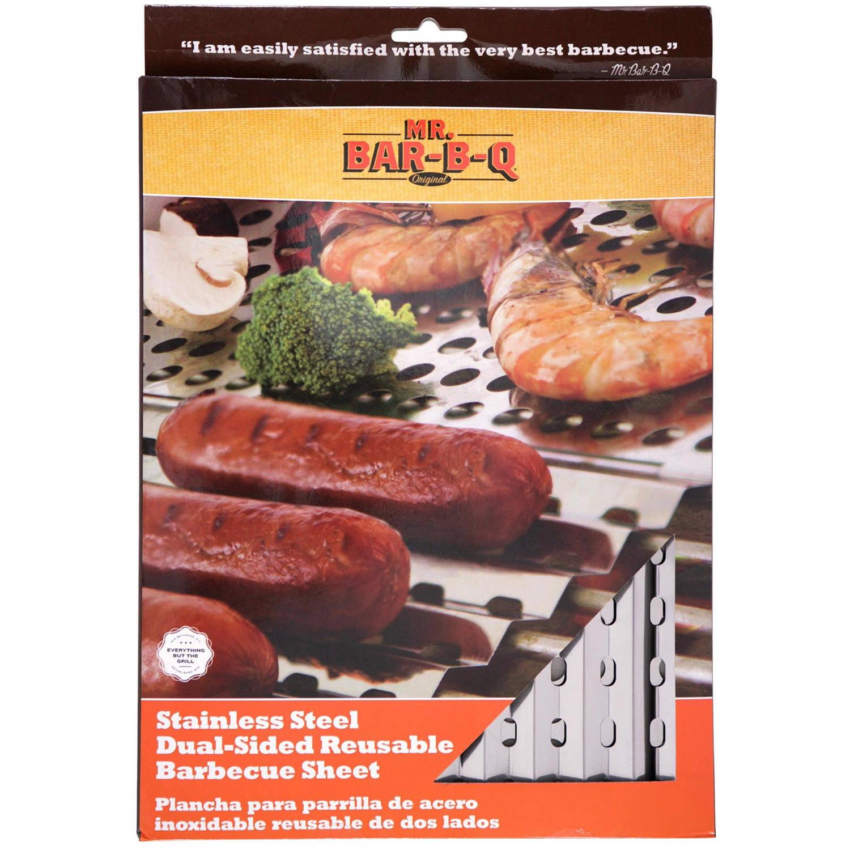 Mr. Bar-B-Q Reusable Grill Sheet