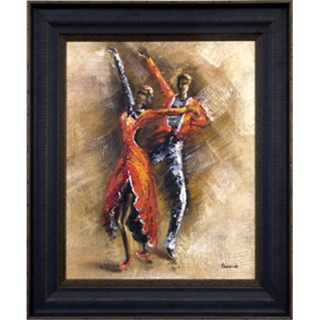 Artmasters Collection CY0951B-8603 Dance Steps I Framed Oil Painting