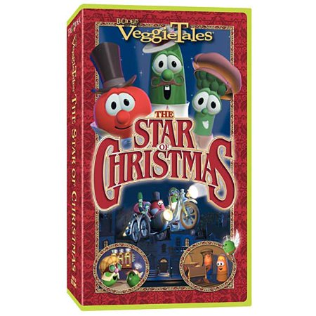 VeggieTales - The Star of Christmas (VHS, 2002, Clamshell) Ships In 24 Hours ()