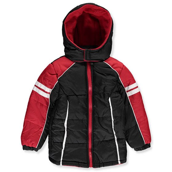e7d6c3dc2331 iXtreme Boys Colorblock Active Hooded Winter Puffer Jacket Coat ...