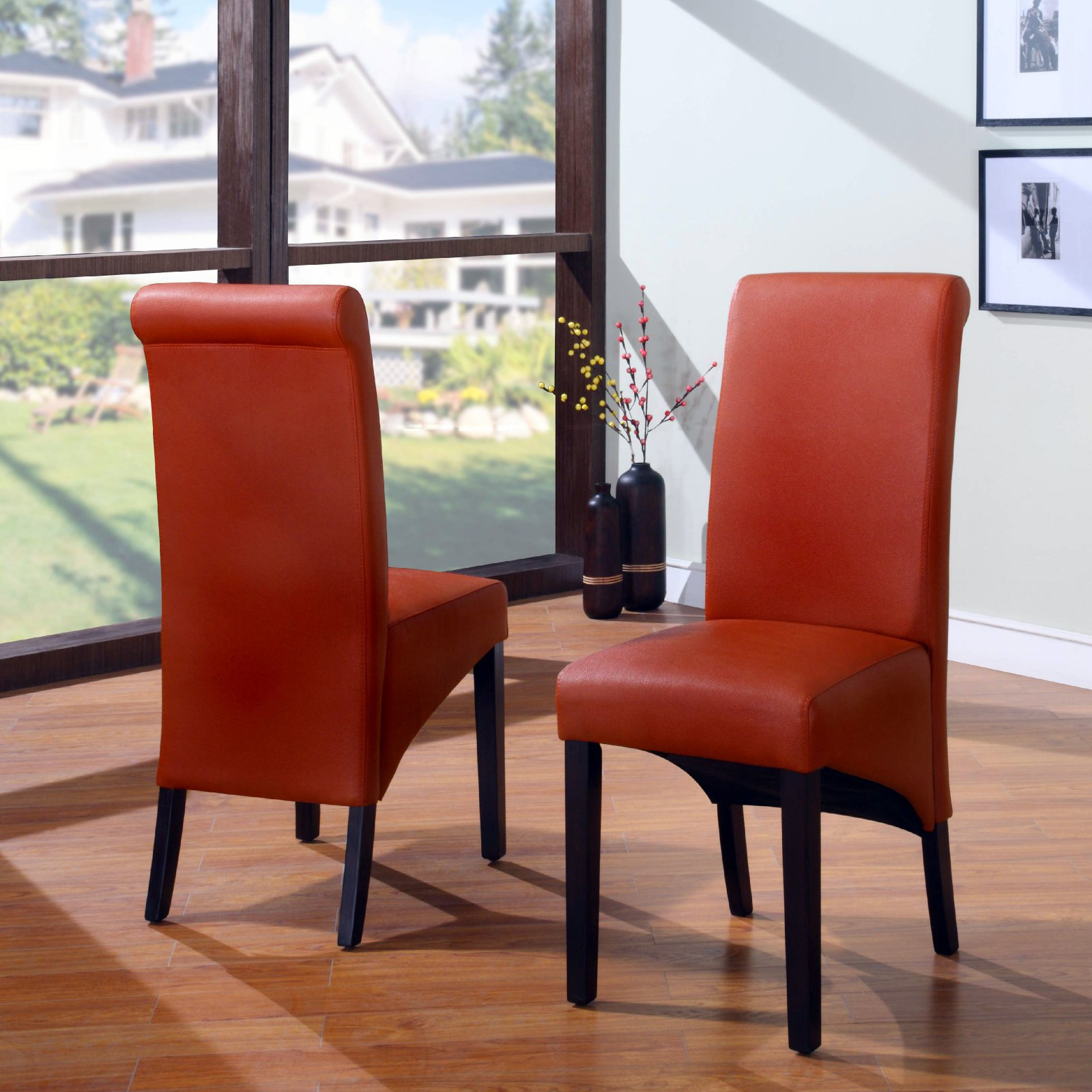 Modus Cosmo Sleigh Back Chair - Set of 2