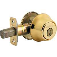 Kwikset Corporation 6603Rcalrcsk3Bx 1-Cyl Deadbolt K3 Brt Brass Bx