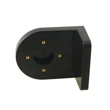 Security Shelf Plate Plastic Black Wall Mount Bracket for Dome Camera