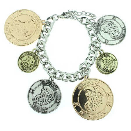 Bracelet - - Coins New Toys Licensed fj28fdhpt (Coin Leather Bracelet)