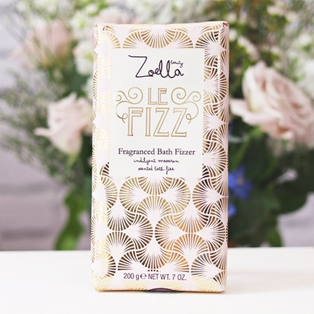Zoella Beauty Sweet Inspirations Le Fizz Fragranced Bath Fizzer 7 oz. (Sweet Pea Bath Bomb)