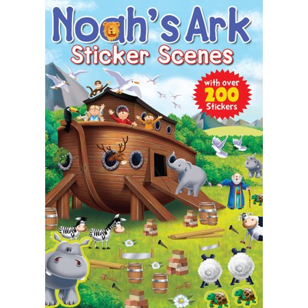 Noah's Ark Sticker Scenes (Noah's Ark Toy Set)