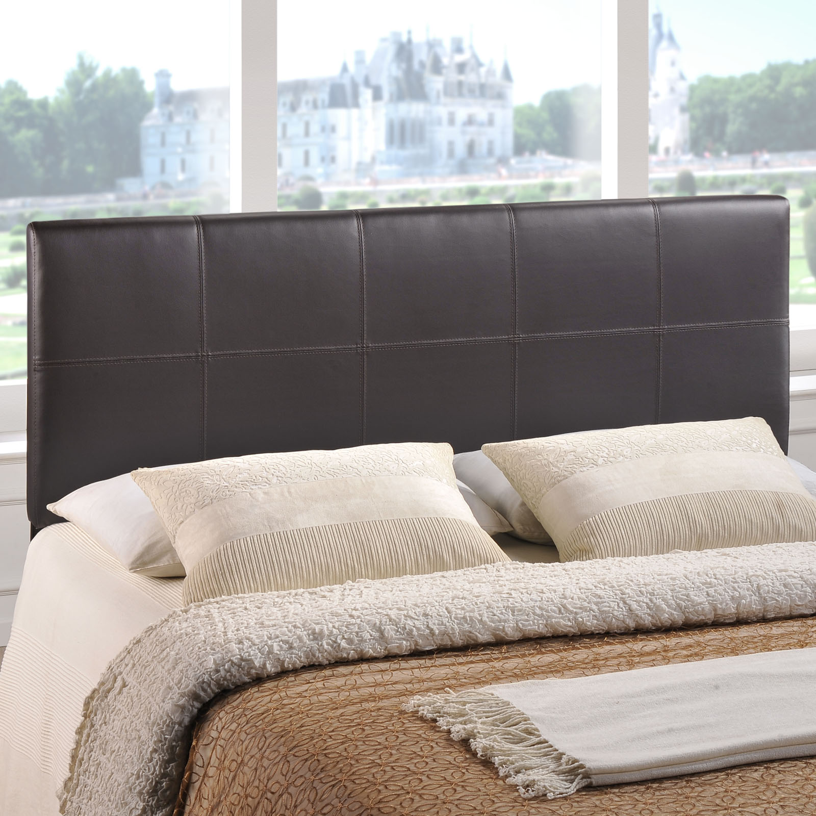 Modway Oliver Contemporary Headboard, Multiple Sizes and Colors