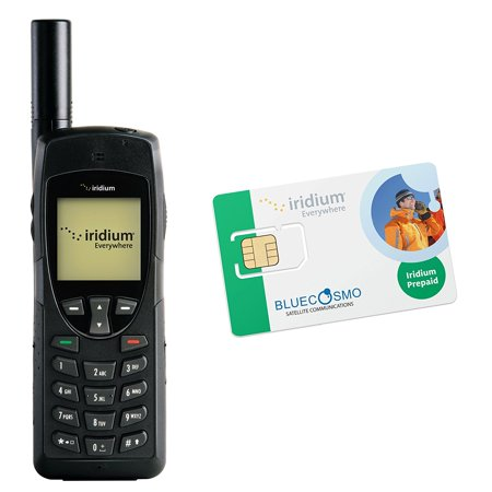 Bluecosmo Iridium 9555 Satellite Phone Kit