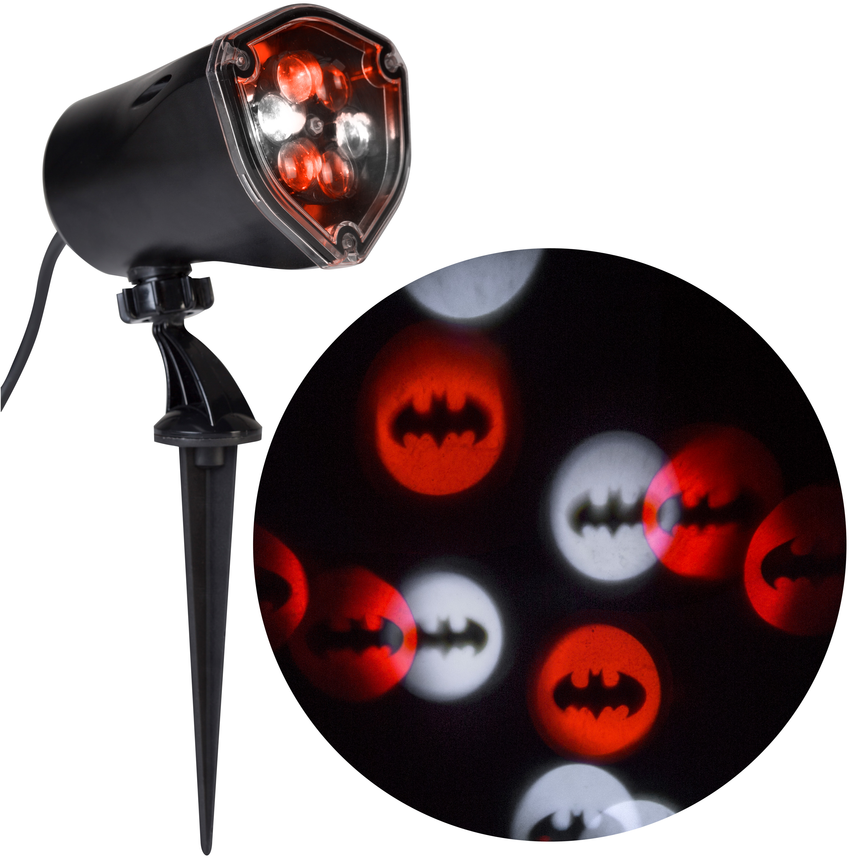 Halloween Lightshow Projection-Whirl-a-Motion-Batman by Gemmy Industries