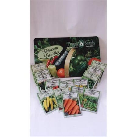 Image of Pages Premium 02VEG15PACK Veggie Favorites 15 Pack Garden Seeds